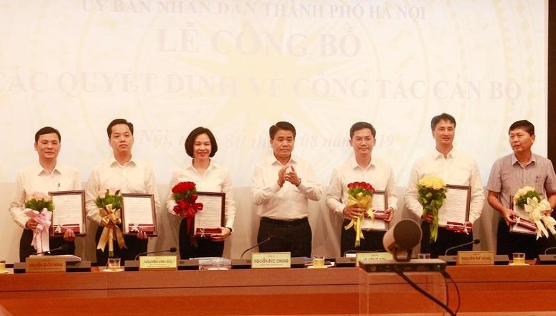 Hà Nội  thay đổi nhân sự của nhiều sở, quận