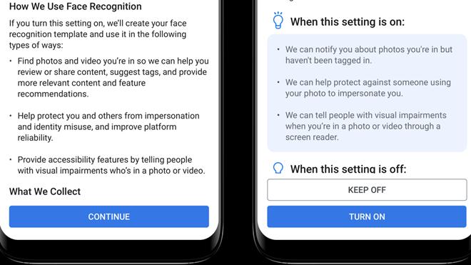 Facebook tắt tính năng nhận diện khuôn mặt để gắn thẻ trong ảnh - ảnh 1