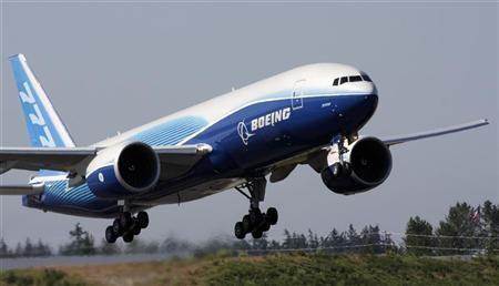 Máy bay Boeing 777. Ảnh: Reuters