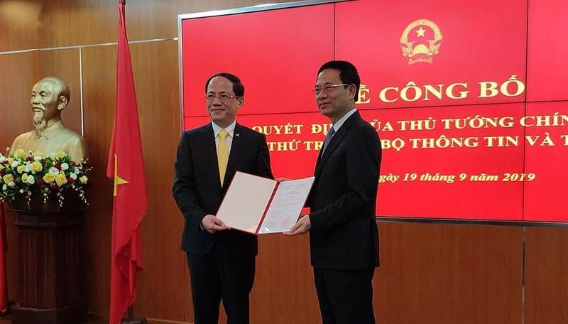 Thủ tướng bổ nhiệm ông Phạm Anh Tuấn giữ chức Thứ trưởng Bộ TT&TT