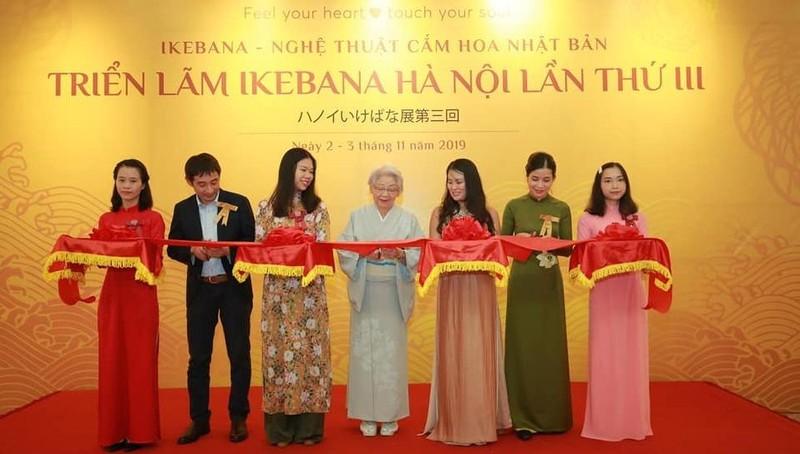Triển lãm nghệ thuật cắm hoa Ikebana lần 3: Bảo vệ môi trường, tôn vinh nghề thủ công truyền thống