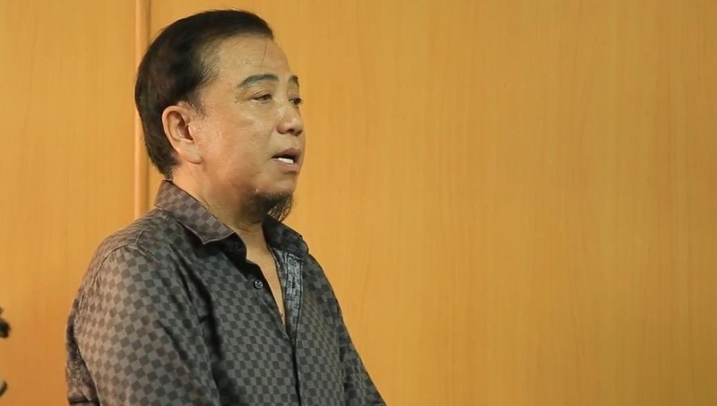 Bị cáo Cao Văn Tơ tại tòa