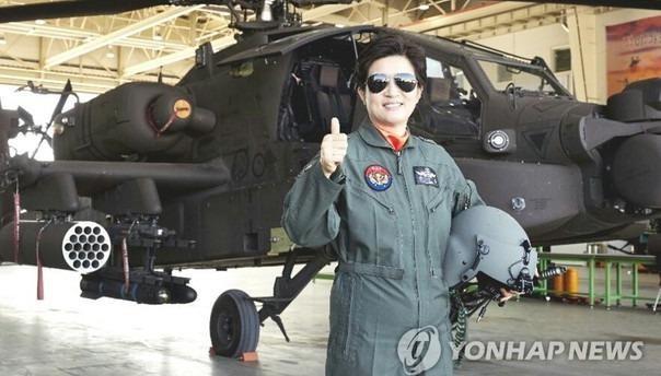 Hàn Quốc lần đầu có nữ tướng hai sao chỉ huy Không quân