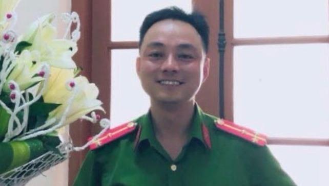 Thượng úy Nguyễn Xô Việt - người có hành vi hành hung một nhân viên trạm dừng chân Hải Đăng.