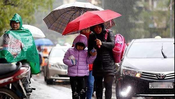 Ngày mai, miền Bắc có mưa và rét