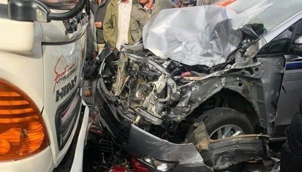 Thiếu tá quân đội gây tai nạn, nồng độ cồn vượt mức