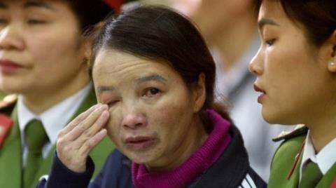 Bị cáo Trần Thị Hiền - ảnh Zing