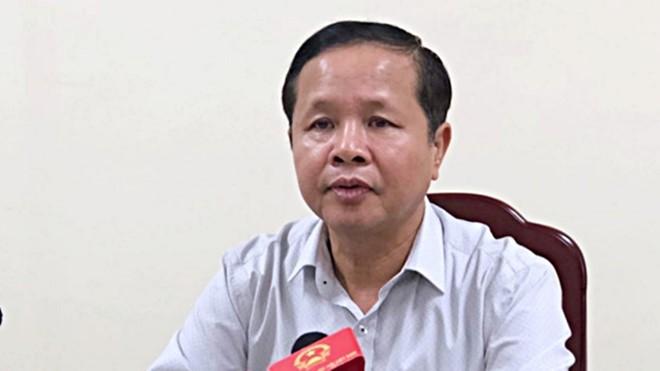 Cách chức ông Bùi Trọng Đắc - Giám đốc Sở GD&ĐT Hòa Bình