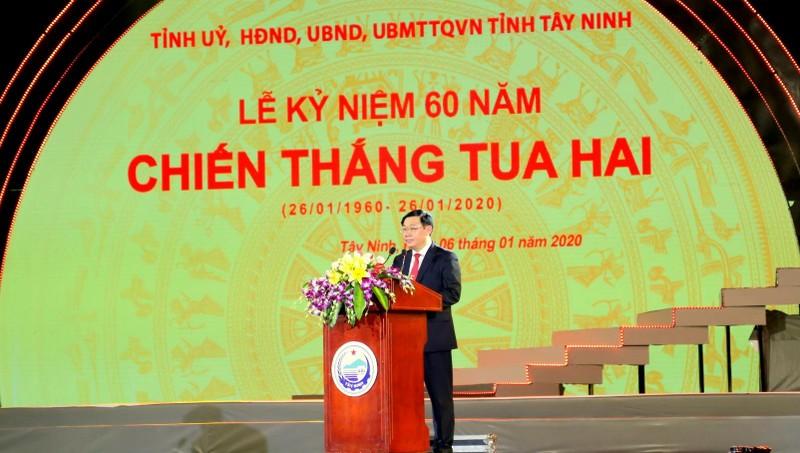 """""""Chiến thắng Tua Hai là niềm tự hào của Đảng bộ, quân và dân Tây Ninh"""""""