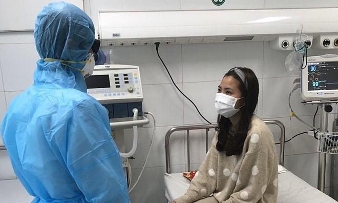 Bệnh nhân được xuất viện sáng 3/2. Ảnh: Tô Hà