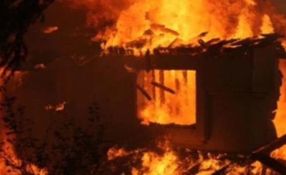 Kế toán xã chết cháy trong phòng làm việc ở trụ sở ủy ban