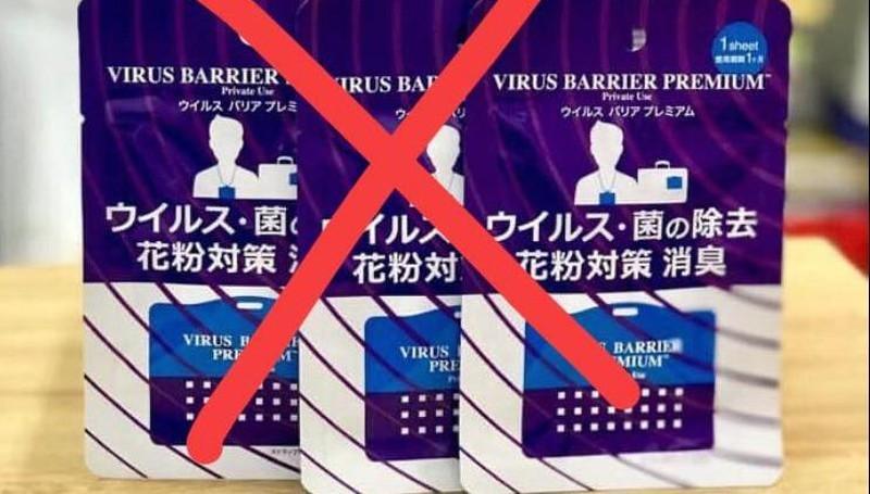 Cẩn trọng với thẻ chống virus đang được rao bán tràn lan trên mạng