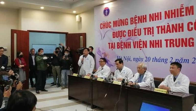 Bệnh nhi nhỏ tuổi nhất Việt Nam nhiễm Covid-19 đã được ra viện