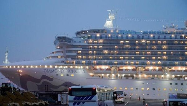 Nhật Bản xác nhận 2 ca nhiễm Covid-19 trên tàu Diamond Princess đã tử vong