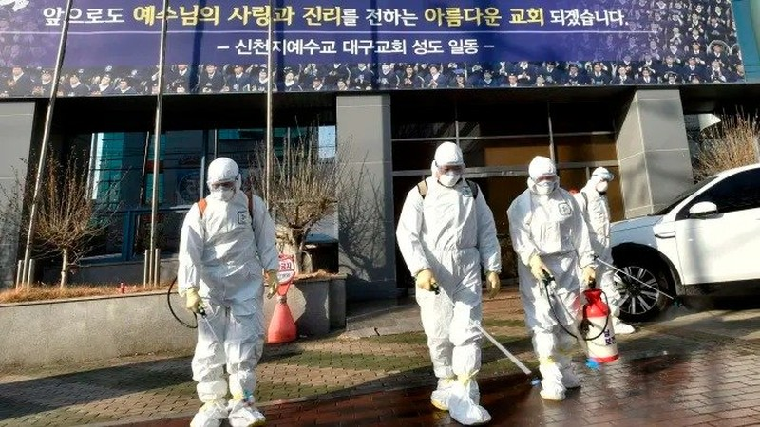 Số ca nhiễm Covid tăng chóng mặt ở Hàn Quốc