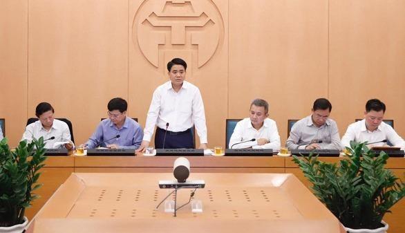 Chưa đợi chính thức công bố ca nhiễm Covid-19 mới, Hà Nội ngay lập tức họp khẩn
