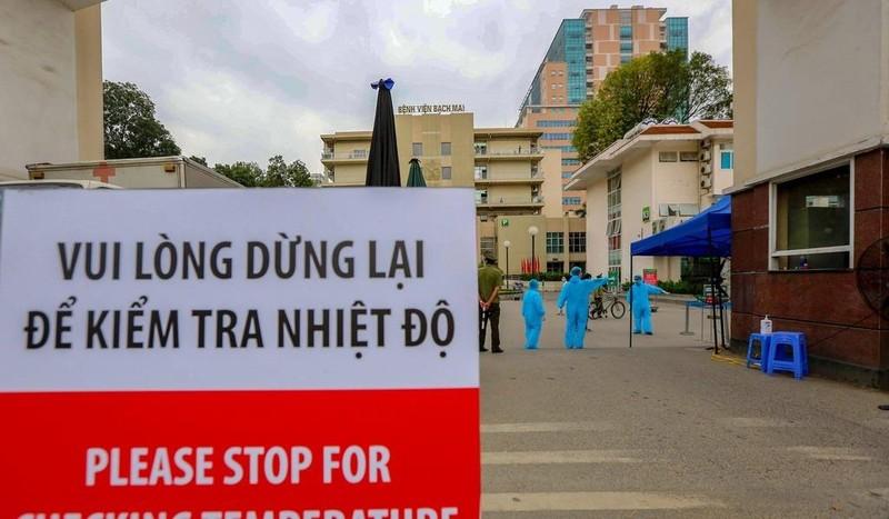 Phát hiện ca mắc Covid-19 sau 23 ngày khám ở Bệnh viện Bạch Mai