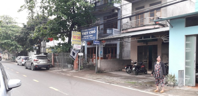Khu tổ 7, phường Tân Hà, nơi gia đình 2 cháu bé cư trú. Ảnh: Đào Thanh.