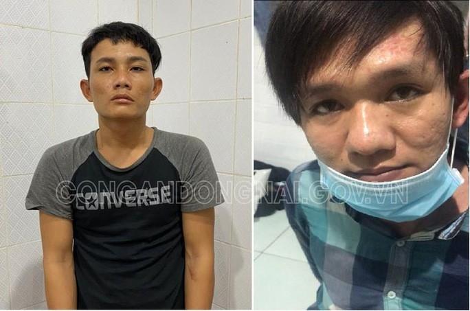 2 tên cướp dùng súng khống chế cả gia đình ở Đồng Nai lúc nửa đêm vừa bị bắt - Ảnh 1.