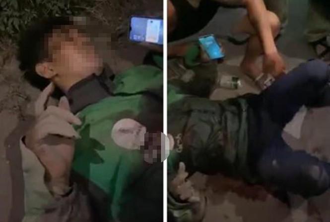 Tài xế GrabBike bị đâm nguy kịch, cướp xe máy trong đêm - ảnh 1