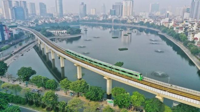 Tàu đường sắt đô thị Cát Linh- Hà Đông vận hành 287 lượt/ngày ảnh 2