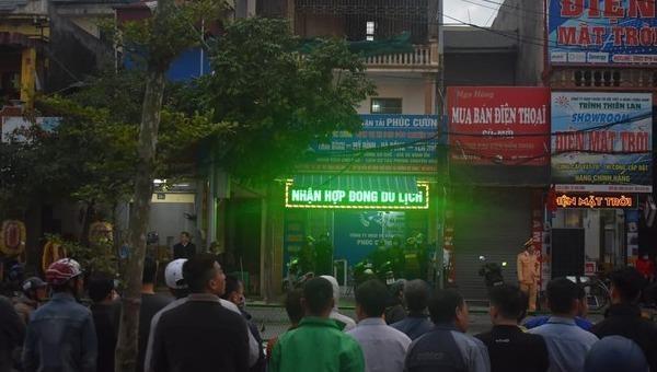 Công an Thái  Bình bắt khẩn cấp giám đốc Công ty xe khách Phúc Cường