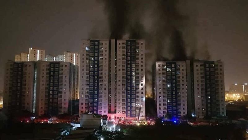 Phục hồi điều tra vụ cháy chung cư Carina Plaza