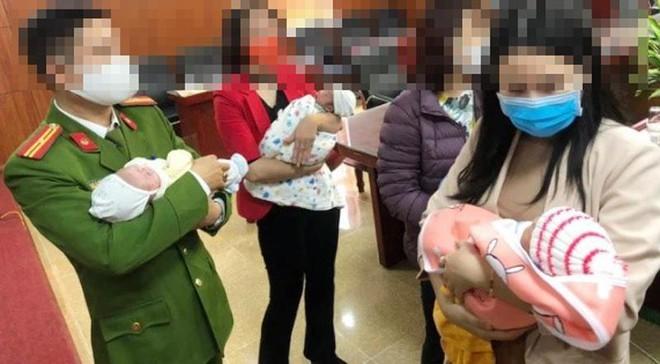 Triệt phá một đường dây mua bán trẻ sơ sinh sang Trung Quốc