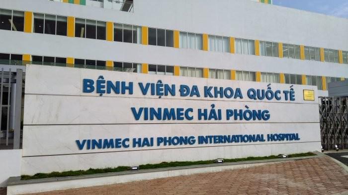Hải Phòng dỡ phong tỏa Bệnh viện Vinmec