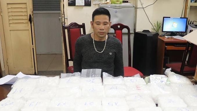Công an thành phố Hà Nội thu giữ gần 60kg ma túy