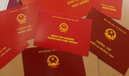 Dùng bằng giả, 9 vị lãnh đạo xã bị cách hết chức vụ trong Đảng