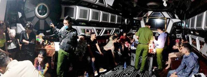 Bộ Công an thông tin có tổ chức ma túy in giả logo Đài Truyền hình Việt Nam