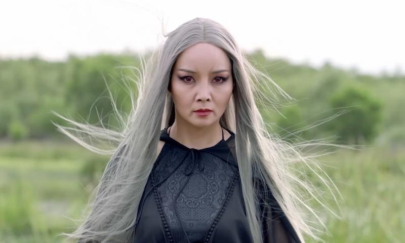 """Tạo hình Đạm Tiên mang chất huyền huyễn trong phim """"Kiều""""."""