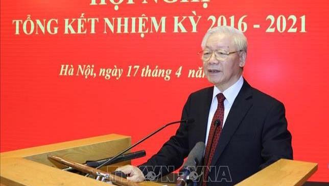 Tổng Bí thư Nguyễn Phú Trọng, Hội đồng Lý luận Trung ương.
