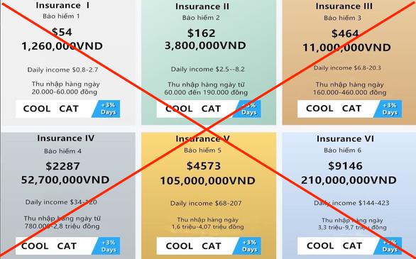 Sập app Coolcat - sàn giao dịch bảo hiểm 100% vốn, nhiều người tá hỏa, lo mất tiền tỉ - Ảnh 2.