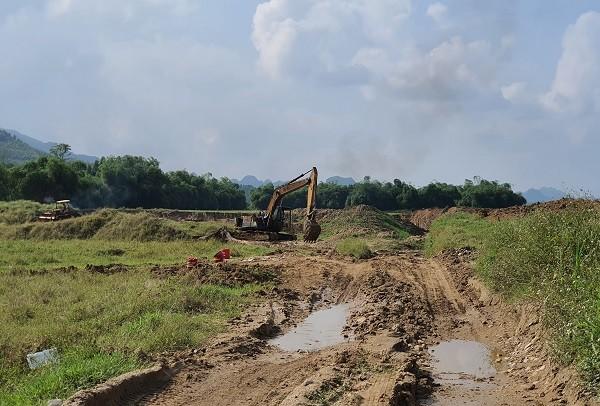 Tuyên Quang: Nguy cơ sạt lở bờ sông Phó Đáy do khai thác khoáng sản