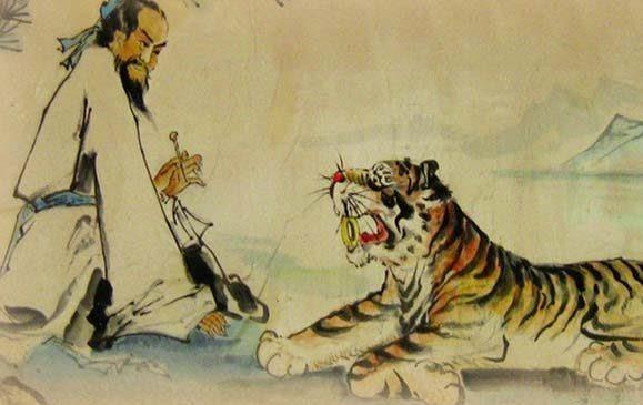 Danh y Trung Hoa gắn liền với truyền thuyết chữa bệnh cho hổ