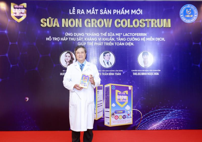 PGS.TS Trần Đình Toán – Viện trưởng Viện dinh dưỡng lâm sàng tham dự chương trình Tọa đàm.