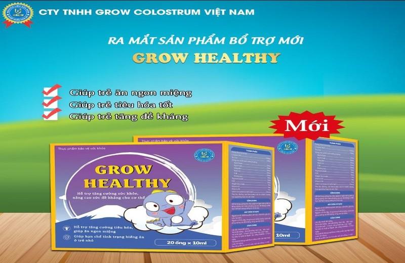Grow healthy - Giải pháp hỗ trợ cho trẻ biếng ăn