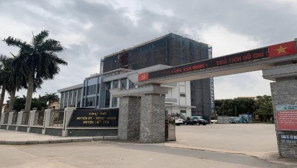 Trụ sở HĐND, UBND huyện Việt Yên (tỉnh Bắc Giang).