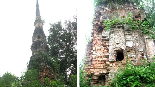 Ngọn tháp không tên bên dòng sông Nậm Nơn