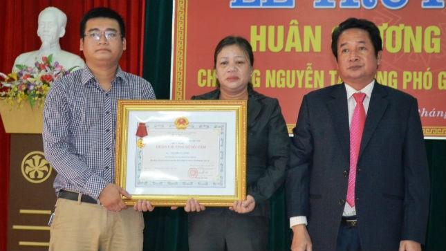 Truy tặng Huân chương Dũng cảm cho Phó Giám đốc Sở bị lũ cuốn