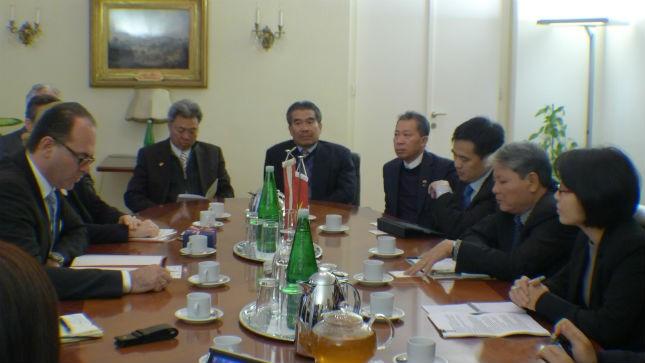 Bộ trưởng Bộ Tư pháp Hà Hùng Cường kết thúc tốt đẹp chuyến thăm và làm việc tại Cộng hòa Áo