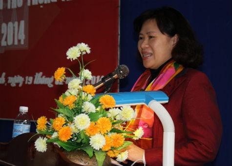 Thứ trưởng Nguyễn Thúy Hiền phát biểu tại Hội nghị