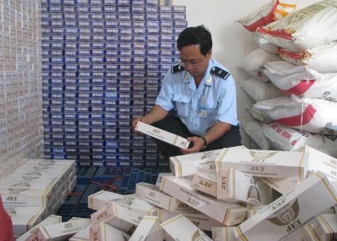 Thuốc lá Jet, Hero là hai mặt hàng chiếm số nhiều về thuốc lá lậu tại TP.HCM