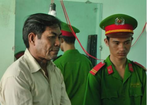Trần Văn Đực bị cơ quan Công an bắt giữ