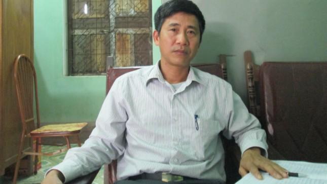 Phó Chủ tịch UBND xã Vũ Văn Vệ