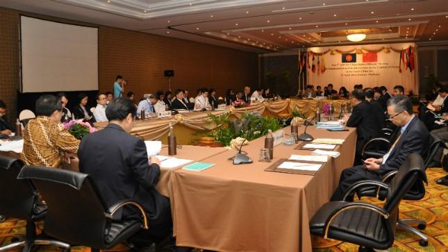 Toàn cảnh phiên họp tham vấn về biển Đông. Ảnh: BNG Thái Lan