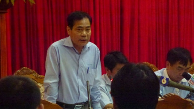 Ông Hoàng Thế Trung – nguyên Giám đốc Ban Quản lý dự án đầu tư hệ thống cấp nước sông Đà Hà Nội