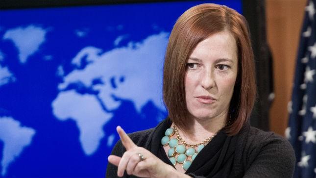 Người phát ngôn Bộ Ngoại giao Mỹ Jen Psaki. Ảnh: Internet